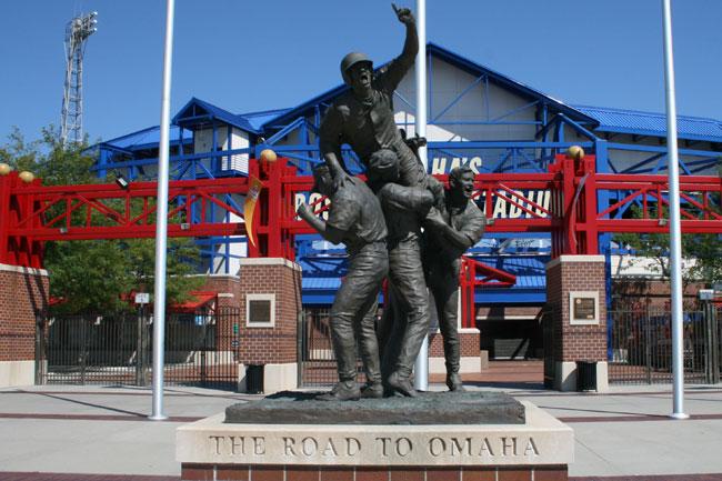 rosenblatt stadium statue