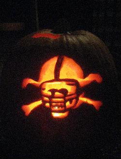 nebraska blackshirts pumpkin stencil