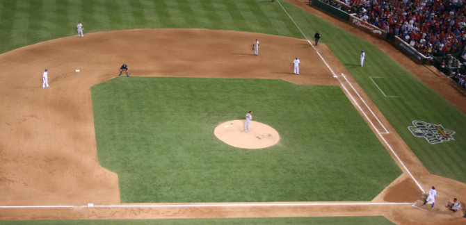 2010 World Series Game 4 - San Fransisco vs. Texas Rangers