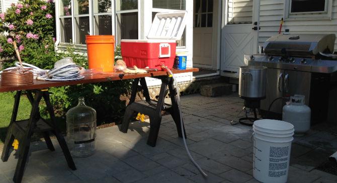 home brew setup