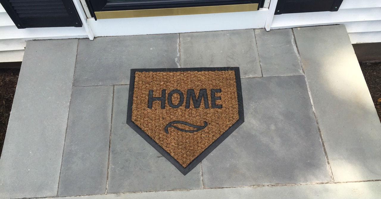 updated home plate door mat
