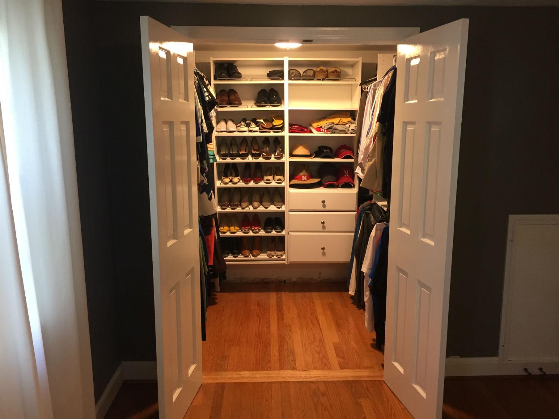 new walk in closet