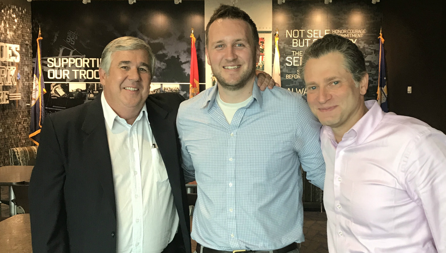 lunch with bob ley and jeremy schaap